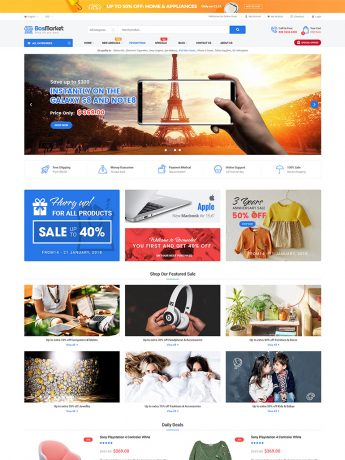 BosMarket-WordPress Theme