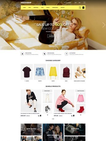 DresShop-WordPress Theme
