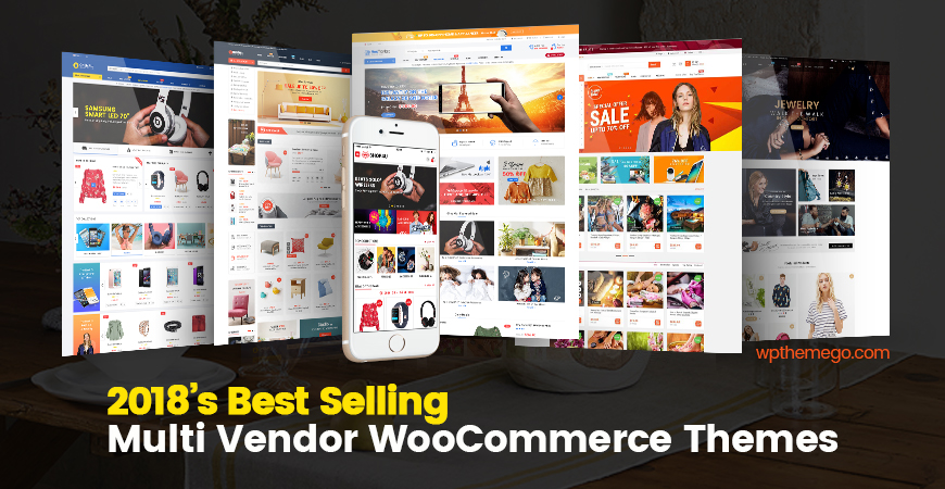 2018\'s Best Selling Multi Vendor WordPress Themes | WPThemeGo