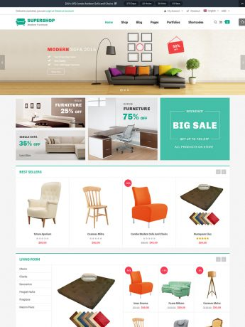 SuperShop-WordPress Theme