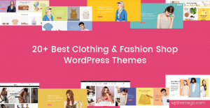 Best Free & Premium Clothing & Fashion Shop WordPress Themes 2020