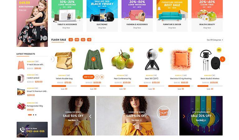 OuiOui - Multivendor MarketPlace WooCommerce WordPress Theme