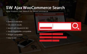 SW Ajax WooCommerce Search-WordPress Theme