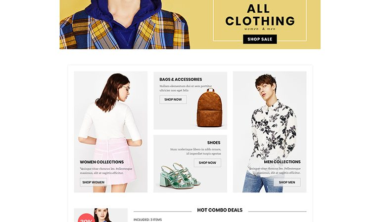 LeVogue - Creative Fashion WooCommerce WordPress Theme