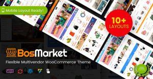 10 indexes for bosmarket multivendor woocommerce theme