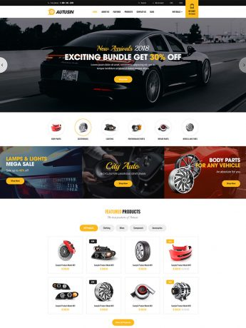 Autusin-WordPress Theme