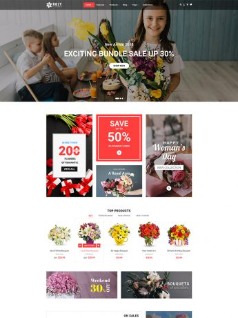 Rozy-WordPress Theme