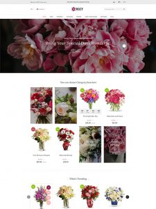 Rozy – Flower Shop WooCommerce WordPress Theme