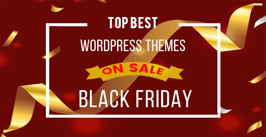 Top Best WordPress Themes on Big Sale this Black Friday
