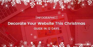 [INFOGRAPHIC] Decorate Your Website for Christmas in 12 Days