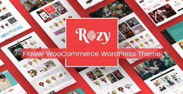 [THEME UPDATE] Rozy Flower Theme Updated with 2 New Indexes & Mobile Layout