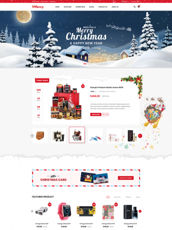 9Merry-WordPress Theme