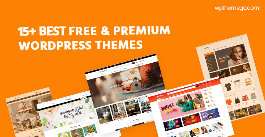 15+ Best Free & Premium WordPress Themes 2020