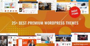 25+ Best Premium WordPress Themes 2020 on Themeforest