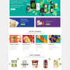 Organic Food Store & Eco Products WordPress Theme - EcoMart