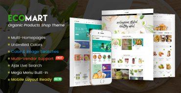 [NEW THEME]  EcoMart - Organic Food Store WordPress Theme