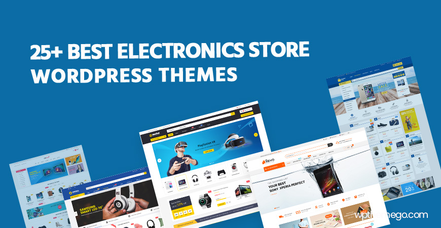 Best Free & Premium Electronics Store WooCommerce WordPress Themes