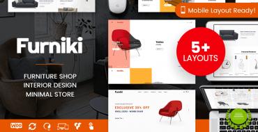 [NEW THEME] Furniki – Furniture Store & Interior Design WordPress Theme