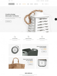 Interior Design & Furniture Store WordPress Theme - Toxic