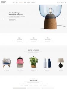 Interior Design & Furniture Store WordPress Theme - Toxic