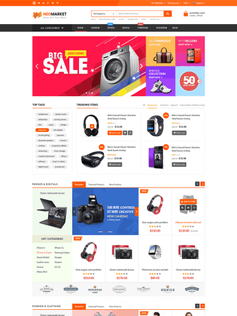 NeoMarket-WordPress Theme