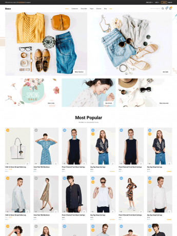 Binace-WordPress Theme