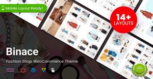 Binace – Fashion Shop WooCommerce Theme