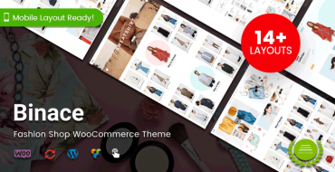 [NEW THEME] Binace - Fashion Shop WooCommerce Theme with 14+ Homepage Designs