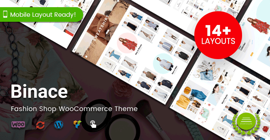 Binace – Fashion Shop WooCommerce Theme