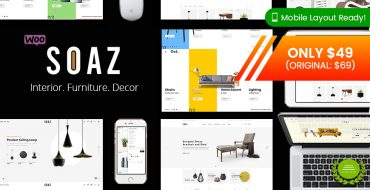 [NEW THEME] Soaz - Furniture Store WordPress WooCommerce Theme & HOT Deal!