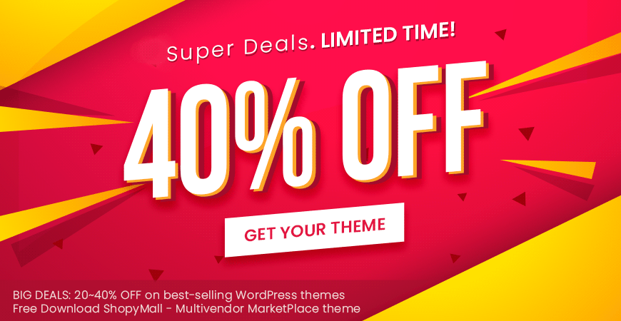 [July 4th] Super Deals on All Best-Selling WordPress Themes