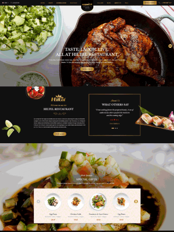 Appetit-WordPress Theme