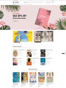 coruja - book store wordpress theme