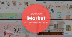 imarket gift shop wordpress theme