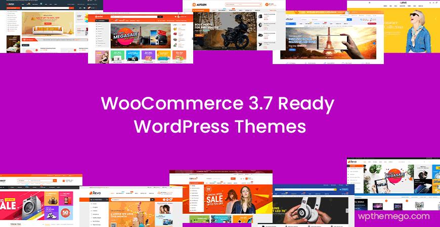 woocommerce 3.7 ready wordpress themes