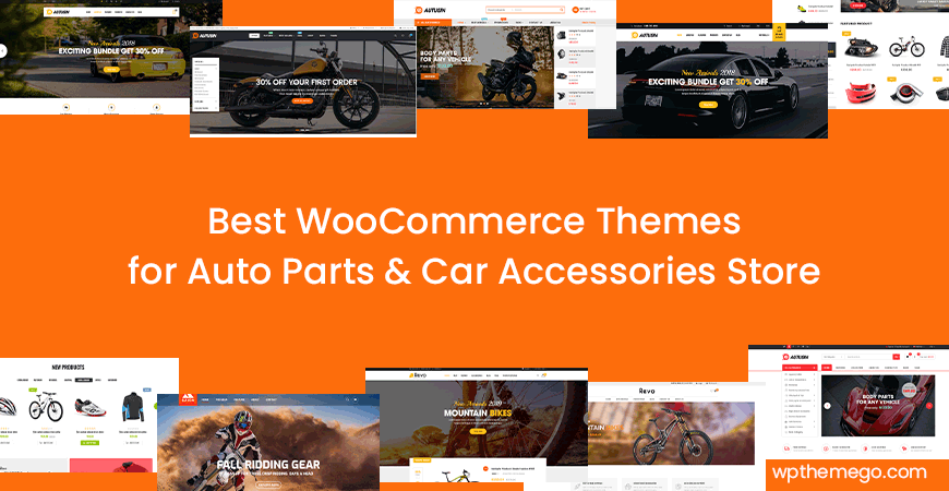 Best Car Parts Store WooCommerce Theme