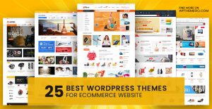 25+ Best Free Premium Ecommerce WordPress Themes 2020