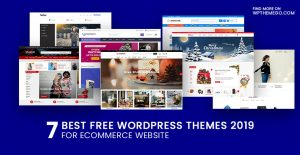 Best Free Ecommerce WordPress Themes 2019