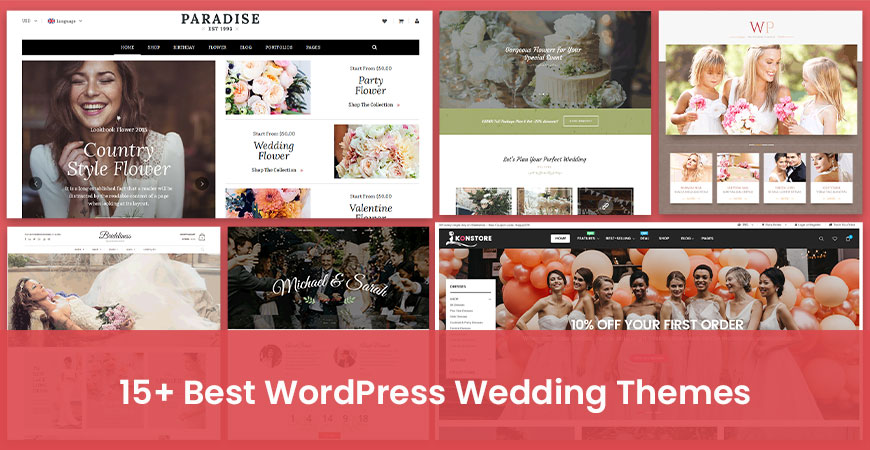 15+ Best WordPress Wedding Themes