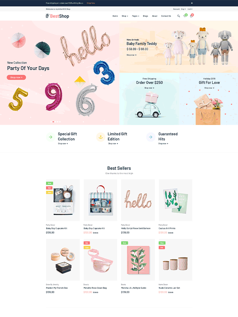 BestShop - Multi Vendor MarketPlace WooCommerce Theme
