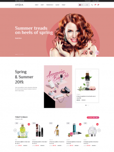 Beauty Store WooCommerce WordPress Theme - Avesa