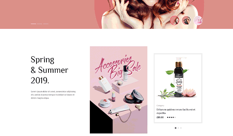 eauty Store WooCommerce WordPress Theme - Avesa