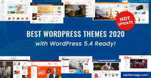 Best WordPress Themes 2020 with WordPress 5.4 Ready