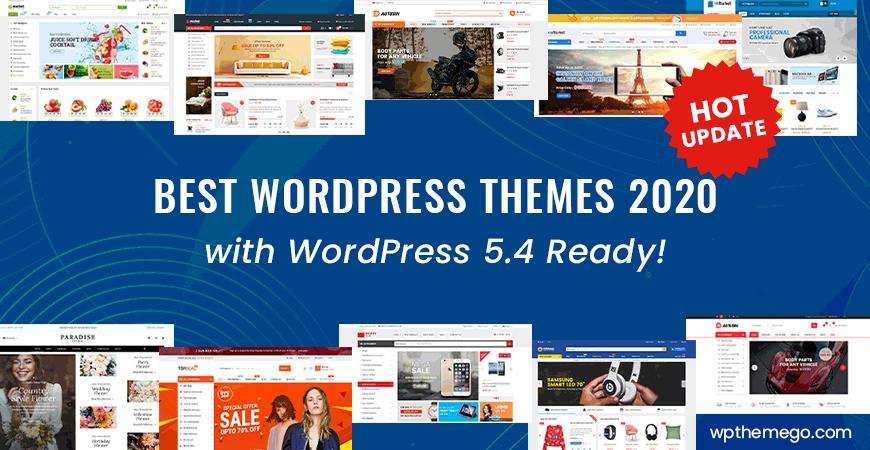 Best WordPress Themes 2020 with WordPress 5.4 Ready