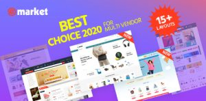 eMarket - Best Multi Vendor MarketPlace WooCommerce WordPress Theme 2020