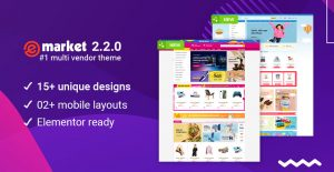 eMarket - Best Multi Vendor MarketPlace WooCommerce WordPress Theme 2020