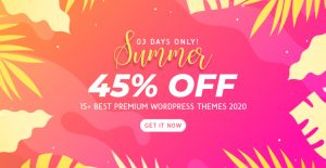 45% OFF on Best Premium WordPress Themes 2020 (Limited Time!)
