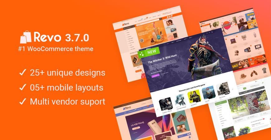 Revo - Best Multipurpose WooCommerce WordPress Theme