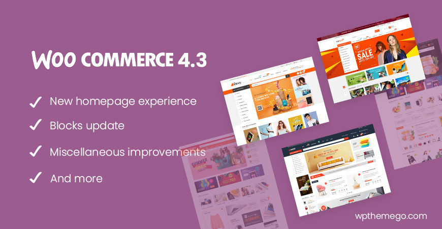 WooCommerce 4.3 New Features