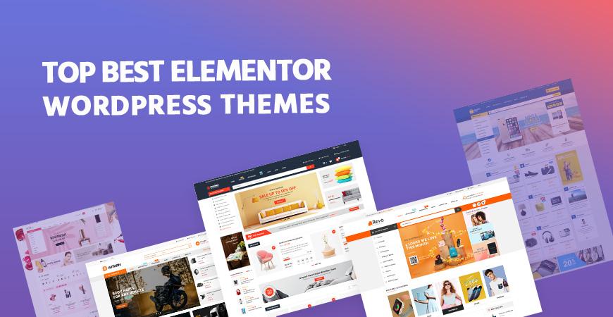 Best Elementor WooCommerce WordPress Themes 2020
